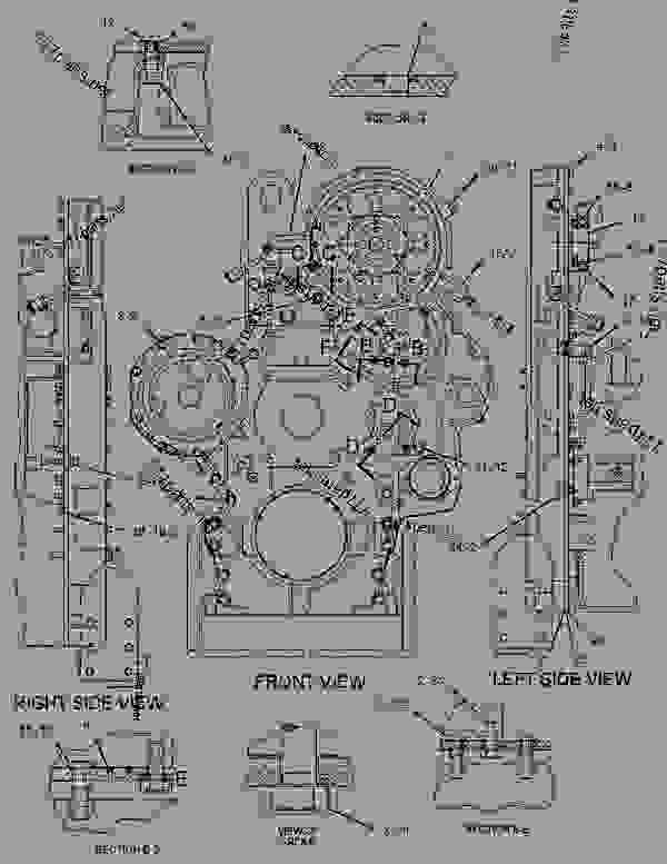 g01855539 1271995 housing group front engine generator set caterpillar caterpillar 3406e engine wiring diagram at mifinder.co