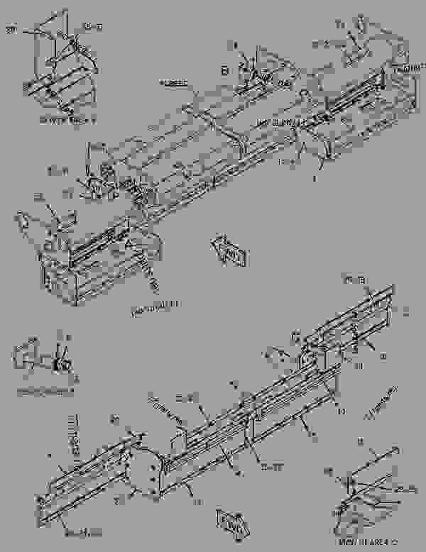 Parts scheme 1914411 PLANETARY GROUP-AUGER  -CONVEYOR - ASPHALT PAVER Caterpillar AP-655D - AP655D Asphalt Paver MAN00001-UP (MACHINE) POWERED BY C6.6 Engine FEEDER DRAG AND AUGER CONVEYORS | 777parts