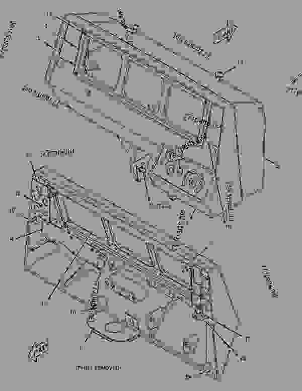Parts scheme 2700459 PANEL GROUP-INSTRUMENT  -SIDE - EARTHMOVING COMPACTOR Caterpillar 815F II - 815F Series 2 Soil Compactor BYN00001-UP (MACHINE) POWERED BY C9 Engine OPERATOR STATION | 777parts