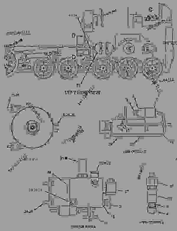 Parts scheme 2309606 VALVE & MTG GROUP-CONTROL  -TRACK TENSION - ASPHALT PAVER Caterpillar AP-1055D - AP-1055D, BG-2455D Mobil Track Asphalt Paver FAC00001-UP (MACHINE) POWERED BY C7 Engine HYDRAULIC SYSTEM | 777parts