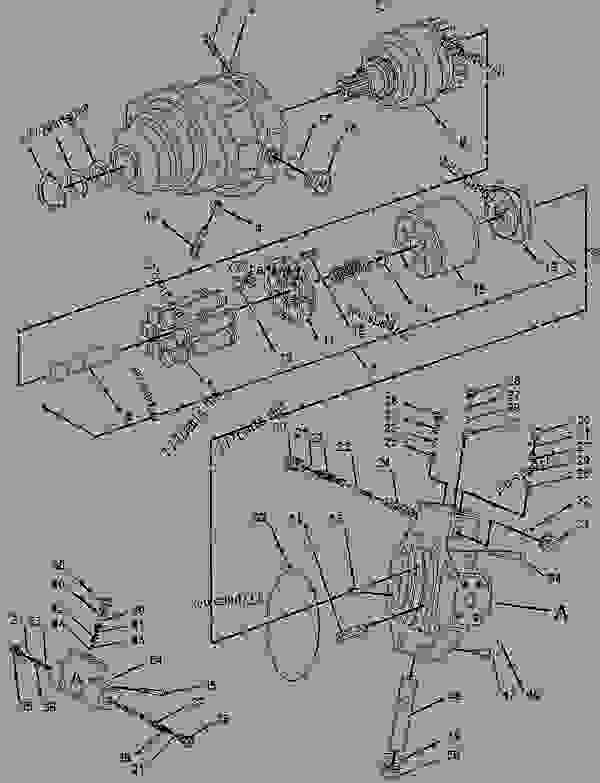 Parts scheme 1429934 MOTOR GROUP-PISTON  -PROPEL - COLD PLANER Caterpillar PM-565B - PM-565B Cold Planer 8GS00001-UP (MACHINE) POWERED BY 3408C Engine HYDRAULIC SYSTEM | 777parts