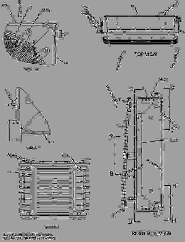 Parts scheme 2077553 FAN GROUP-SUCTION   - EARTHMOVING COMPACTOR Caterpillar 836G - Custom Product Support Literature for the 834G Series II Wheel Type Tractor and 836G Series II Landfill Compactor BRL00001-UP (MACHINE) COOLING SYSTEM | 777parts