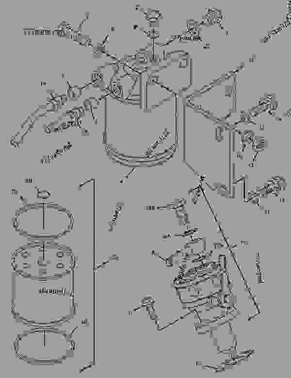 3315707 pump group-fuel priming - engine