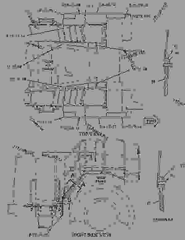 Parts scheme 1425800 FENDER GROUP-REAR   - EARTHMOVING COMPACTOR Caterpillar 836G - Custom Product Support Literature for the 834G Series II Wheel Type Tractor and 836G Series II Landfill Compactor BRL00001-UP (MACHINE) FRAME AND BODY | 777parts