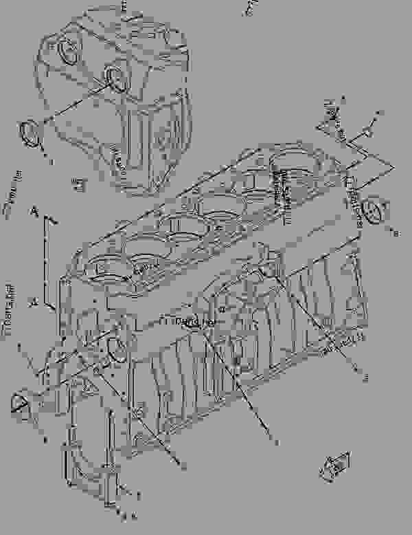 Parts scheme 2588724 COVER GROUP-VALVE MECHANISM   - EARTHMOVING COMPACTOR Caterpillar 815F II - 815F Series 2 Soil Compactor BYN00001-UP (MACHINE) POWERED BY C9 Engine BASIC ENGINE | 777parts