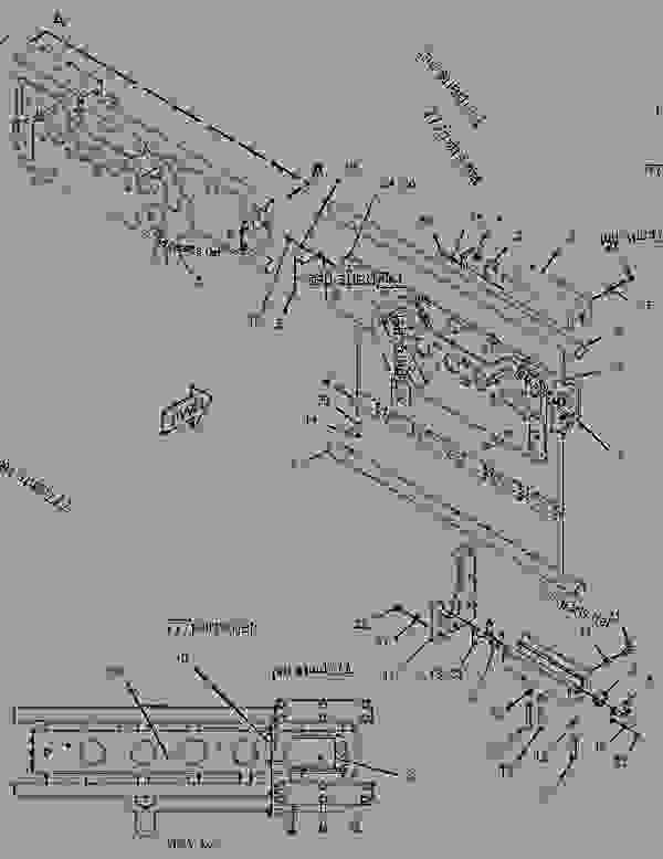 Parts scheme 2312043 EXTENSION GROUP-AUGER  -24-IN, LH - ASPHALT PAVER Caterpillar AP-600D - AP600D Asphalt Paver TFZ00001-UP (MACHINE) POWERED BY C6.6 Engine FEEDER DRAG AND AUGER CONVEYORS | 777parts