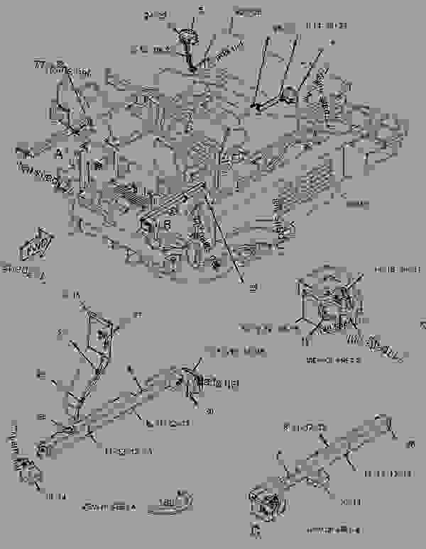 Parts scheme 3443455 LAMP GROUP-HEAD & SIGNAL  -RH - ASPHALT PAVER Caterpillar AP-655D - AP655D Mobil Trac Asphalt Paver GNN00001-UP (MACHINE) POWERED BY C6.6 Engine ELECTRICAL AND STARTING SYSTEM | 777parts
