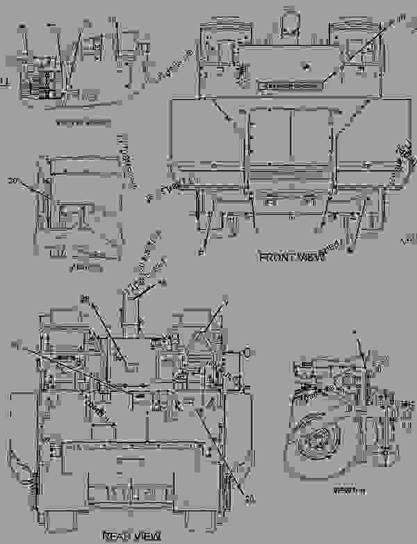 Parts scheme 3332711 PLATE & FILM GROUP  -U.S. - ASPHALT PAVER Caterpillar BG500E - AP500E BG500E Asphalt Paver B5E00001-UP (MACHINE) POWERED BY C4.4 Engine SERVICE EQUIPMENT AND SUPPLIES | 777parts