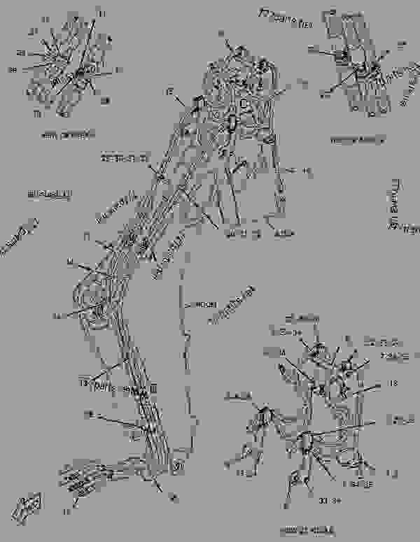 Parts scheme 3224572 WHEEL & TIRE GROUP  -LH - BACKHOE LOADER Caterpillar 416E - 416E Backhoe Loader Single Tilt LMS00001-UP (MACHINE) POWERED BY C4.4 Engine, 3054C Engine POWER TRAIN | 777parts