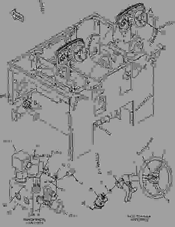 Parts scheme 3382665 VALVE & MTG GROUP-STEERING   - ASPHALT PAVER Caterpillar AP500E - AP500E BG500E Asphalt Paver JWK00001-UP (MACHINE) POWERED BY C4.4 Engine HYDRAULIC SYSTEM | 777parts