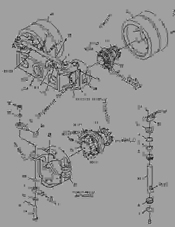 Parts scheme 3398132 BOGIE GROUP  -LH - ASPHALT PAVER Caterpillar AP500E - AP500E BG500E Asphalt Paver JWK00001-UP (MACHINE) POWERED BY C4.4 Engine UNDERCARRIAGE | 777parts