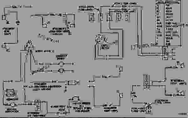 wiring diagram - track-type loader caterpillar 955l