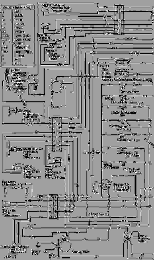 Wiring Diagram - Track-type Loader Caterpillar 973