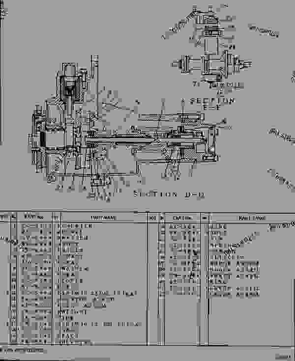 6i4267 governor group unit injector engine machine Injector Pump Diagram