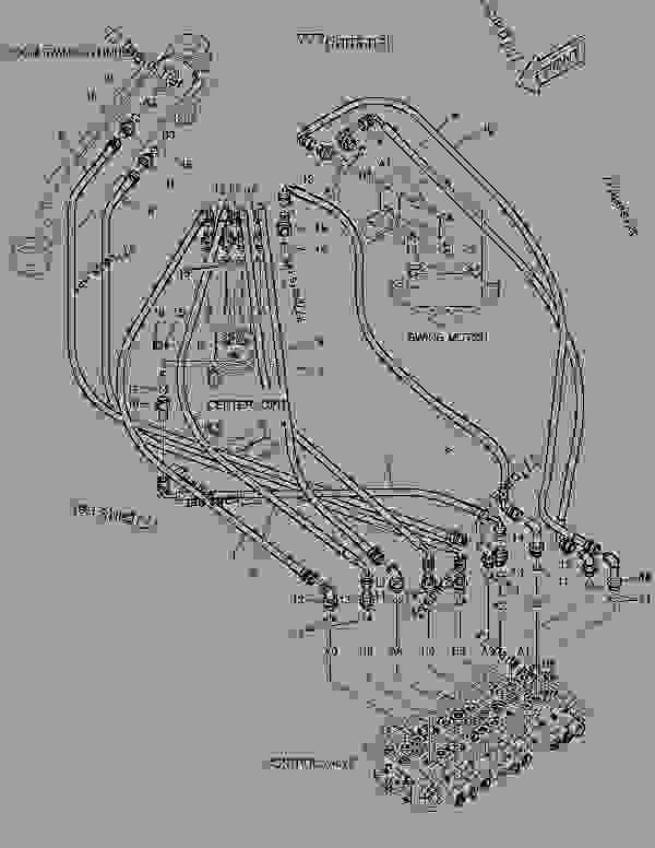 Parts scheme MAIN PIPING(3) - FIXED TRACK - CRAWLER EXCAVATOR Doosan SOLAR 015 PLUS - BODY PARTS | 777parts