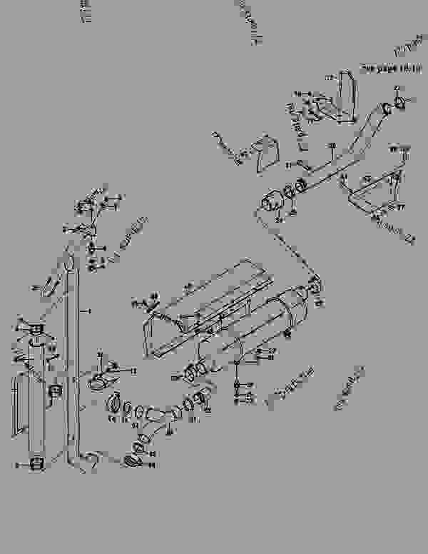 Parts scheme EXHAUST SYSTEM - MOXY ARTICULATED DUMP TRUCK Doosan MT30 - ENGINE | 777parts
