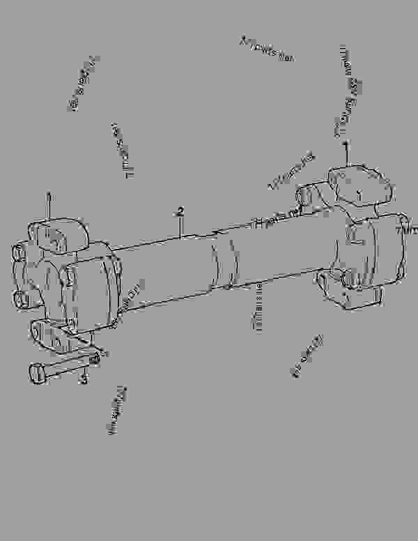 Parts scheme CARDAN SHAFT; FRONT WAGON - MOXY ARTICULATED DUMP TRUCK Doosan MT25 - FRONT AXLE | 777parts