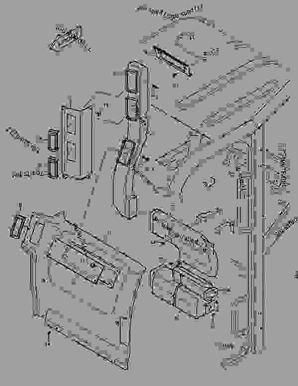 Parts scheme REAR COVER - DUCT - EXCAVATOR Doosan E80 - BODY PARTS | 777parts