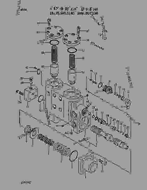 Parts scheme VALVE; HOLDING (ARM:BOTTOM) - EXCAVATOR Hitachi EX550-3 - EX550-3 EX550LC-3 EX600H-3 EX600LCH-3 EQUIPMENT COMPONENTS PARTS VALVE | 777parts