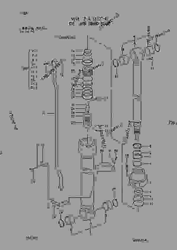 Parts scheme CYL.; ARM (MONO BOOM) SERIAL NO. D04/05- - EXCAVATOR Hitachi ZAXIS230 - ZAXIS230 230LC 240H 240LCH 240K 240LCK 250 250LC 250LCN EQUIPMENT COMPONENT PARTS CYLINDER | 777parts