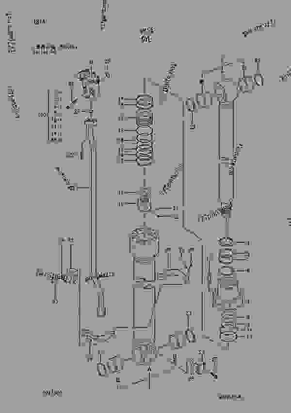 Parts scheme CYL. SERIAL NO. 010001- - EXCAVATOR Hitachi ZAXIS230 - ZAXIS230 230LC 240H 240LCH 240K 240LCK 250 250LC 250LCN EQUIPMENT COMPONENT PARTS CYLINDER | 777parts