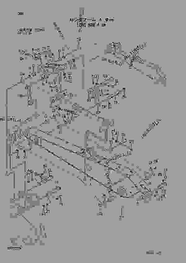Parts scheme LONG ARM 4.9M SERIAL NO. 020001- - EXCAVATOR Hitachi ZAXIS450-3 - ZAXIS450-3 450LC-3 470H-3 470LCH-3 500LC-3 520LCH-3 PARTS FRONT-END ATTACHMENTS | 777parts
