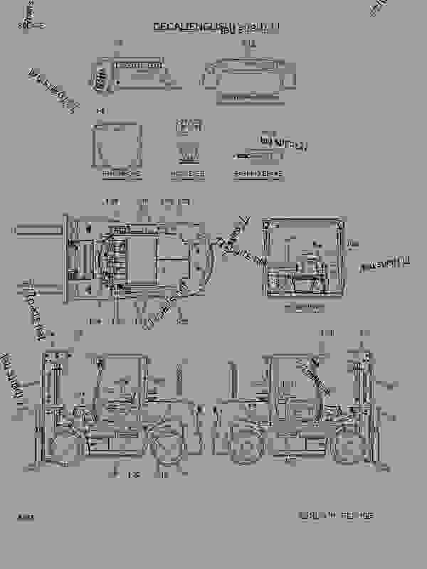 Parts scheme DECALS (ENGLISH) - FORK LIFT Hyundai 80D-7E - 80D-7E OTHERS DECALS (ENGLISH) | 777parts