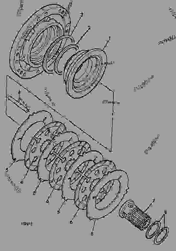 Brake Components Front Axle Seal Retract Construction