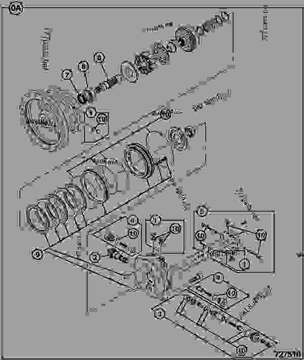Parts scheme MOTOR, SWING - CONSTRUCTION JCB .JS190 T3 - TRACKED EXCAVATOR PARTS CATALOGUE JP, 9812/5000, M1314100- HYDRAULICS & AIR PUMP/MOTOR & PUMP DRIVE MOTOR, SWING | 777parts