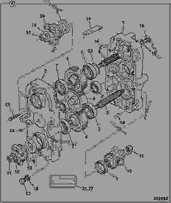 Parts scheme 460/M0890, GEARBOX TG310 - ITL JCB POWERSHIFT - INTERNATIONAL TRANSMISSIONS LIMITED, 9802/1040 TRANSFER GEARBOX / DROPBOX TG310 460/M0890, GEARBOX TG310 | 777parts
