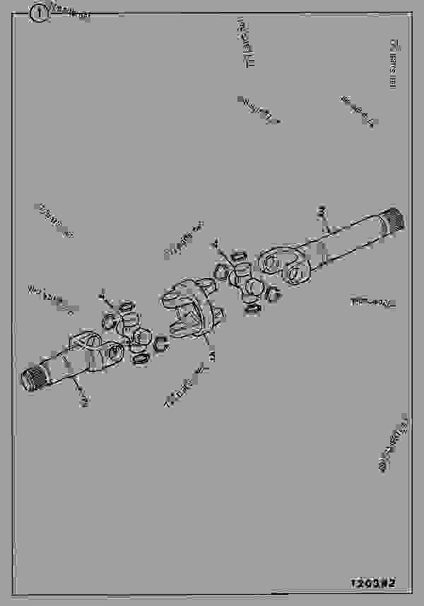 Parts scheme SHAFT, DRIVE, STEER AXLE, 461/19900 - ITL JCB PD80 - INTERNATIONAL TRANSMISSIONS LTD, 9802/1010 S55, SD55 AXLE, PIVOT MOUNT AXLE, STEER SD55/PT SHAFT, DRIVE, STEER AXLE, 461/19900 | 777parts