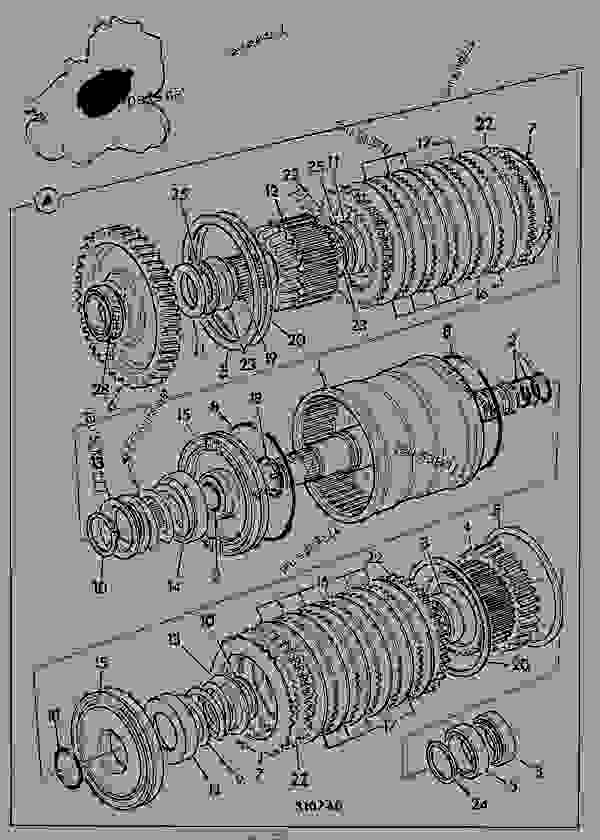 Parts scheme CLUTCH, INPUT, 4WD C/W PTO, POWERSHIFT TRANSMISSION 460/80230 - CONSTRUCTION JCB .PS750 - TRANSMISSIONS, 9802/1020 PS740 TRANSMISSION PS740 4WD TRANSMISSION C/W PTO CLUTCH, INPUT, 4WD C/W PTO, POWERSHIFT TRANSMISSION 460/80230 | 777parts