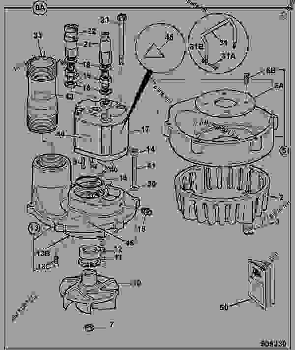 Parts scheme TRASH PUMP, SUBMERSIBLE, 4 - CONSTRUCTION JCB HM 100_HM115 - HAMMERS, SWEEPERS, EARTH DRILLS, 9802/0060 TRASH PUMP, SUBMERSIBLE TRASH PUMP TRASH PUMP, SUBMERSIBLE, 4 | 777parts