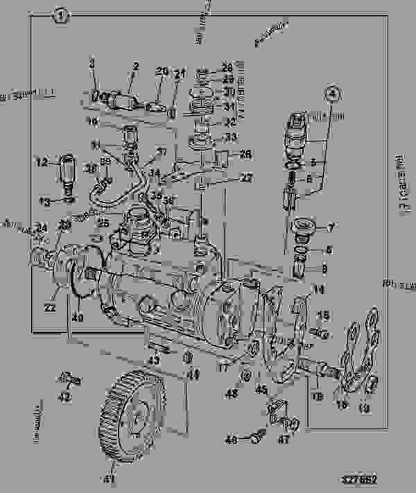 backhoe controls diagram