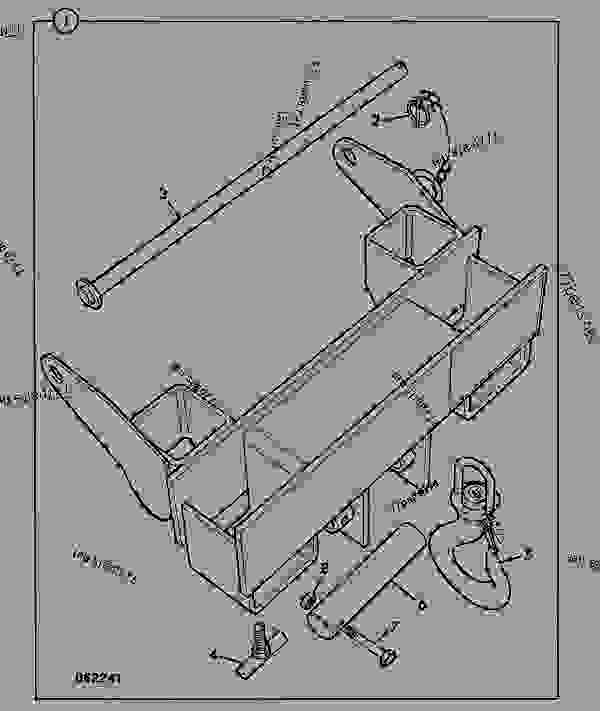 Parts scheme CRANE, FORK MOUNTED - CONSTRUCTION JCB 4C 30 - REGULAR BACKHOE LOADER, 9802/9600, M400001- ATTACHMENTS ATTACHMENTS CRANE, FORK MOUNTED | 777parts