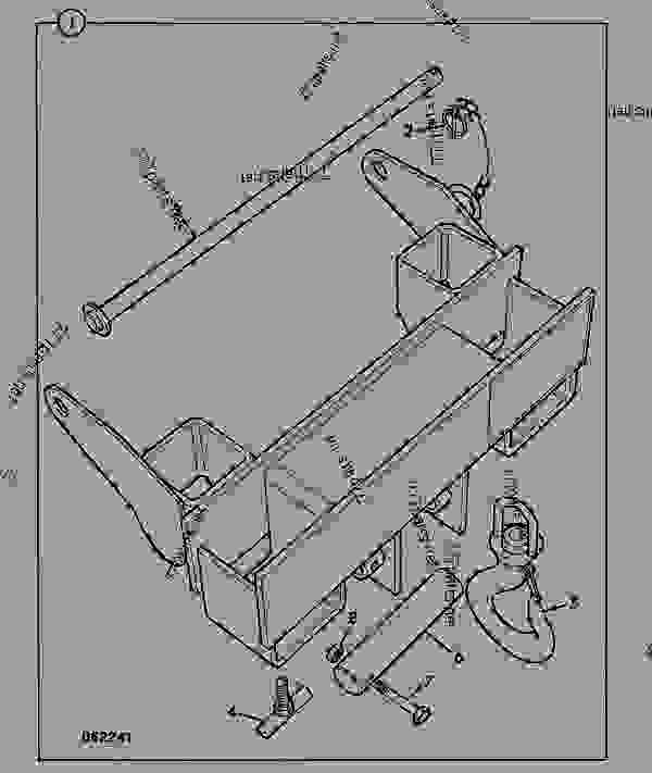 Parts scheme CRANE, FORK MOUNTED - CONSTRUCTION JCB 4CS PC - REGULAR BACKHOE LOADER (CENTREMOUNT SERVO), 9802/9780, M483468- ATTACHMENTS ATTACHMENTS CRANE, FORK MOUNTED | 777parts