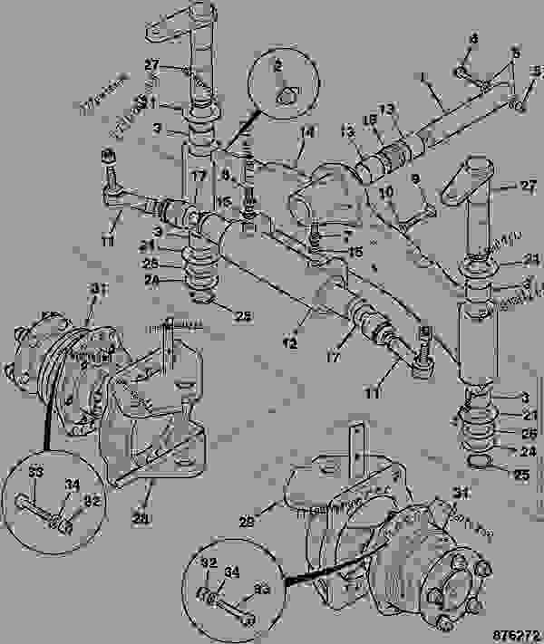 Axle  Motors Assembly  Front Steering  4wd