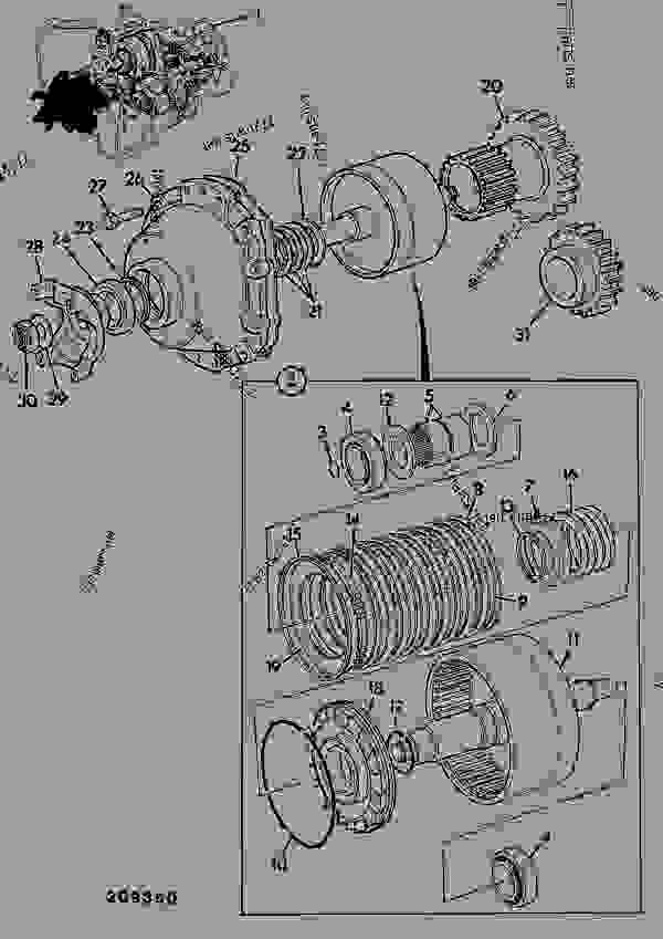 Parts scheme TRANSMISSION ASSY, AWS 40KPH PS740, 449/00900, 449/05300 POWERSHIFT - CONSTRUCTION JCB 3CX (24 Volt) - REGULAR BACKHOE LOADER (SIDESHIFT), 9802/9730, M460001- AXLES, WHEELS & TRANSMISSION TRANSMISSIONS, POWERSHIFT TRANSMISSION ASSY, AWS 40KPH PS740, 449/00900, 449/05300 POWERSHIFT | 777parts