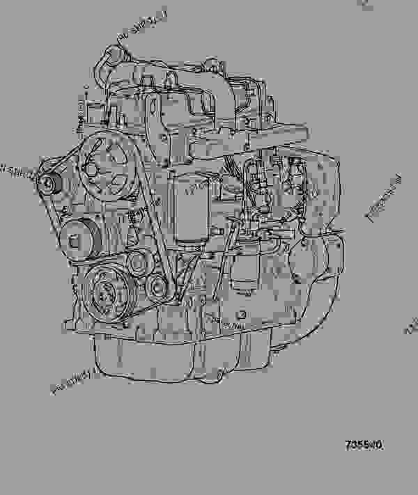 Parts scheme ENGINE, COMPLETE, 320/40062 - CONSTRUCTION JCB 320/40064 - JCB444 4 CYLINDER ENGINE PARTS CATALOGUE, 9802/2940 ENGINE 4 CYLINDER TURBOCHARGED ENGINE ASSEMBLY ENGINE, COMPLETE, 320/40062 | 777parts