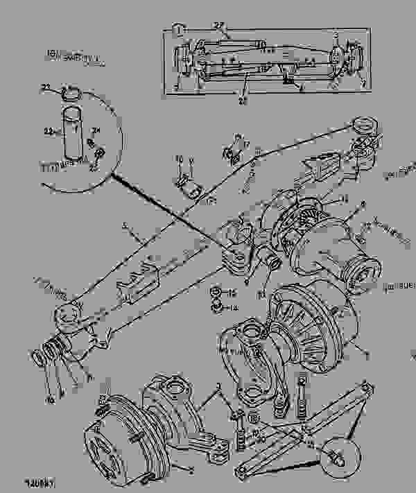 AXLE ASSEMBLY, 4WD, STEERING, 448/56110 - CONSTRUCTION JCB