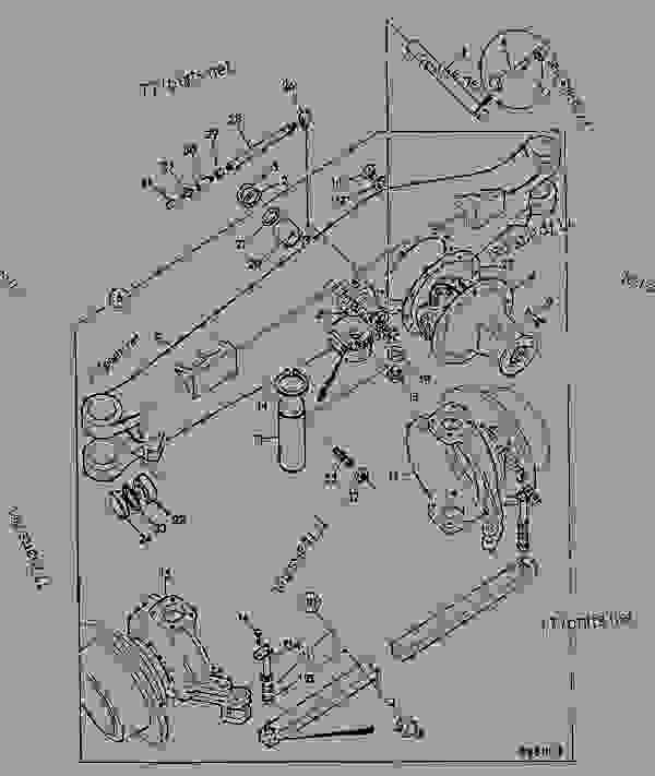 Parts scheme AXLE ASSEMBLY, 4WD, STEERING - CONSTRUCTION JCB .3CX-4 France - REGULAR BACKHOE LOADER (WORLDWIDE), 9802/8550, M337001- AXLES, WHEELS & TRANSMISSION AXLES FRONT AXLE ASSEMBLY, 4WD, STEERING | 777parts