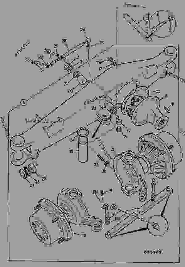 Axle Assembly  4wd  Steering
