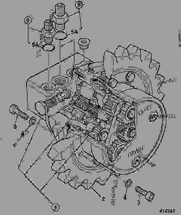 Gearbox Assembly Parts Parts Scheme Gearbox Track
