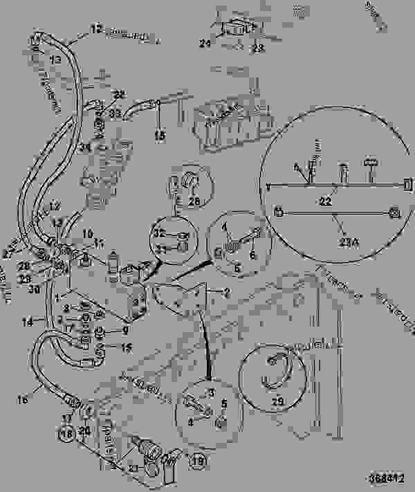 john deere 5200 engine diagram
