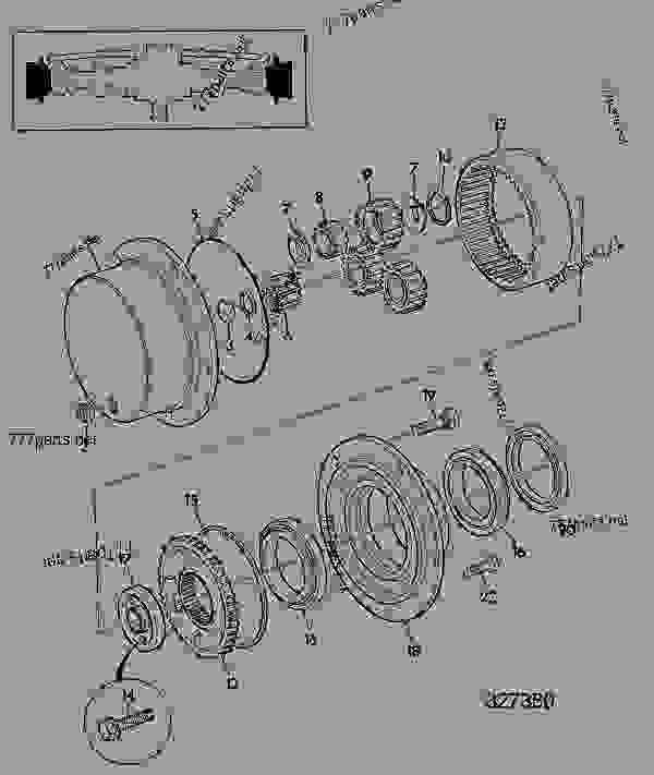 Parts scheme HUB & COMPONENTS AWS, REAR AXLE, 453/31600, 453/33470 - CONSTRUCTION JCB 4CS PC - REGULAR BACKHOE LOADER (CENTREMOUNT SERVO), 9802/9780, M483468- AXLES, WHEELS & TRANSMISSION AXLES, REAR HUB & COMPONENTS AWS, REAR AXLE, 453/31600, 453/33470 | 777parts