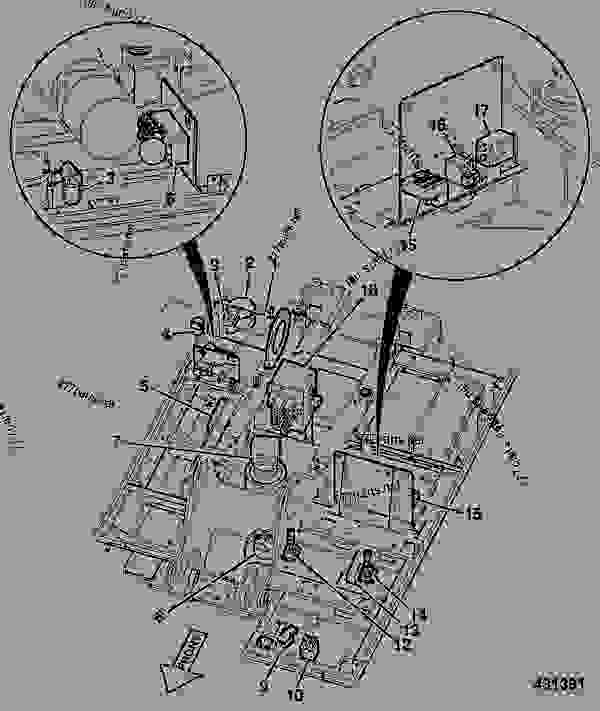 Parts scheme CIRCUIT, HYDRAULIC COMPONENTS, LAYOUT, REVOLVING FRAME - JCB INDIA JCB JS220 L.Reach - CRAWLER EXCAVATOR JP, 9802/5820, M1018001- HYDRAULICS & AIR HOSE & PIPEWORK CIRCUIT, HYDRAULIC COMPONENTS, LAYOUT, REVOLVING FRAME | 777parts