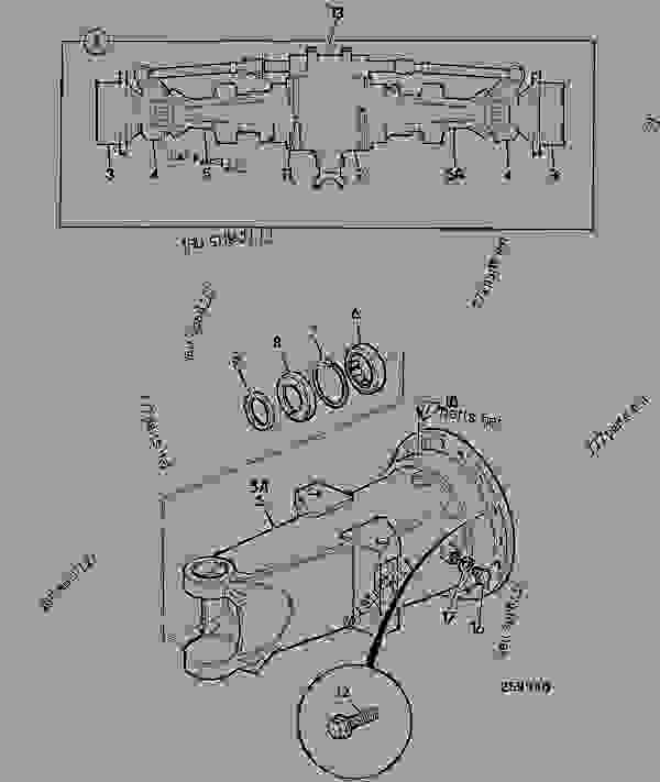 Parts scheme AXLE ASSEMBLY SD70, PAD MOUNT, 15.78:1, 461/18700, 461/21630 - CONSTRUCTION JCB SD70 LSD - INTERNATIONAL TRANSMISSIONS LTD, 9802/1010 SD70 AXLE AXLE ASSY SD70 MAXTRAC P.T ROD AXLE ASSEMBLY SD70, PAD MOUNT, 15.78:1, 461/18700, 461/21630 | 777parts