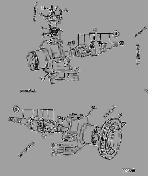 knuckle  steering  front axle