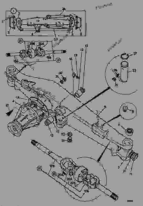 Parts scheme AXLE ASSEMBLY, DRIVE, STEERING - AGRICULTURAL JCB 525B-2HL - LOADALL 525B-2/4,H/L,F.S., 9802/7200, M272001- STEERING STEERING-4WD AXLE ASSEMBLY, DRIVE, STEERING | 777parts