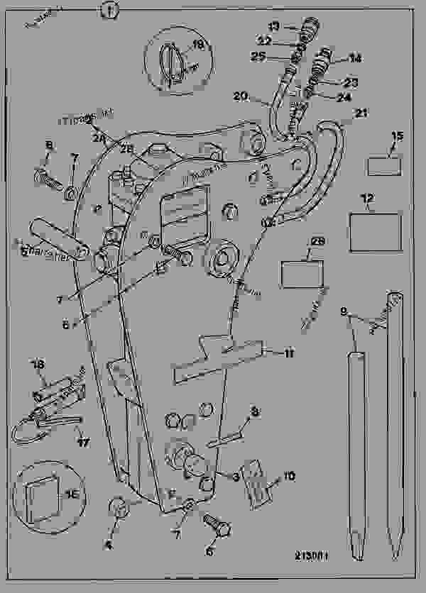 Parts scheme BREAKER, HAMMERMASTER 160 - CONSTRUCTION JCB HM 100_HM115 - HAMMERS, SWEEPERS, EARTH DRILLS, 9802/0060 ATTACHMENTS, L JCB HAMMERMASTER BREAKER RANGE BREAKER, HAMMERMASTER 160 | 777parts